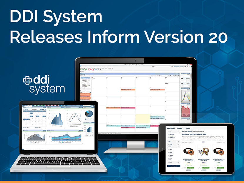 DDI System Releases Inform ERP Version 20