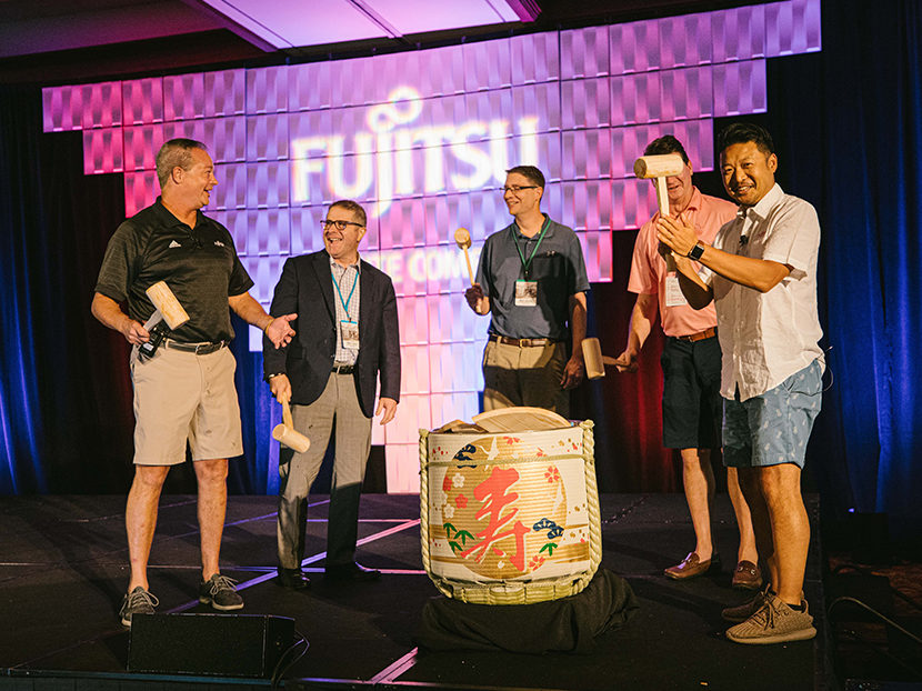 Fujitsu National Distributor Conference Goes to SoCal