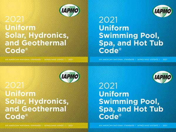 IAPMO Solicits Public Comments for 2021 USHGC, USPSHTC