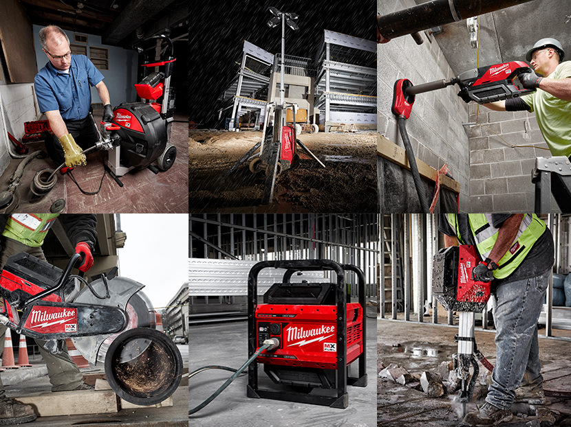 Milwaukee Tool Launches MX FUEL Equipment System Collage