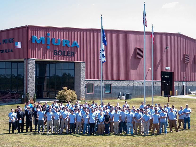 Miura Celebrates 10th Anniversary of US Manufacturing Headquarters