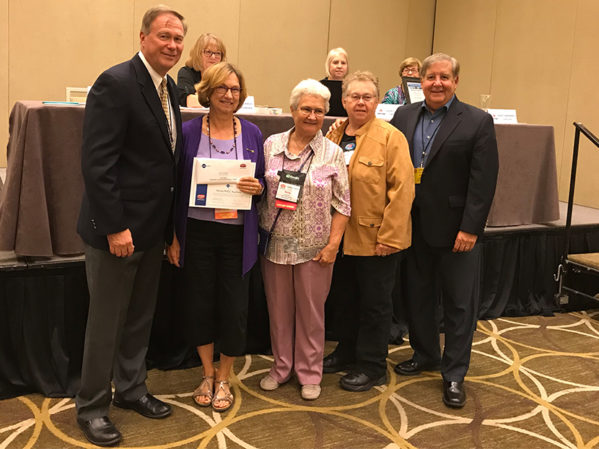 PHCC – National Auxiliary Presents Cox Awards