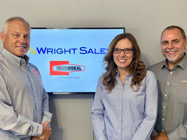 RectorSeal Names Wright Sales Co. as Manufacturer's Rep for California, Northern Nevada and Hawaii