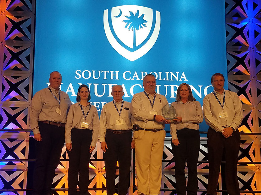 T&S Brass Wins South Carolina State Manufacturing Award for Excellence