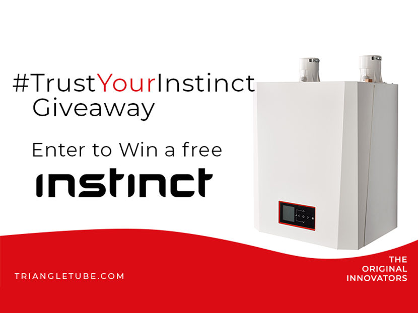 Triangle Tube Announces #TrustYourInstinct Giveaway