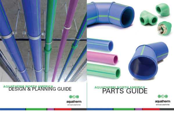 Updated Aquatherm Design & Planning and Parts Guides Available