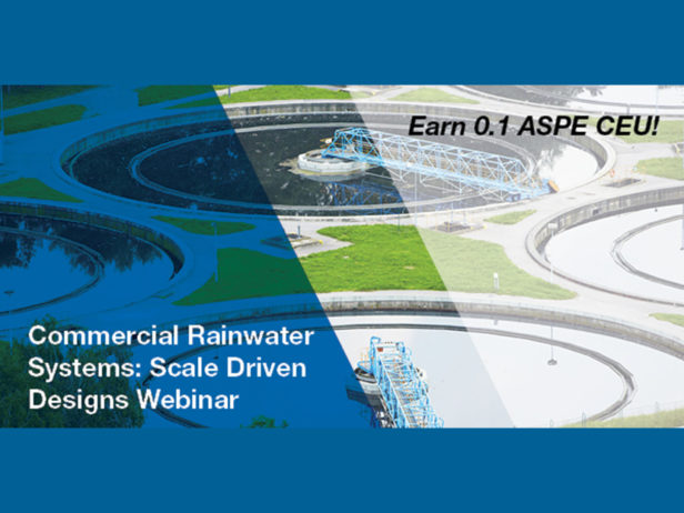Watts to host webinar on commercial rainwater systems