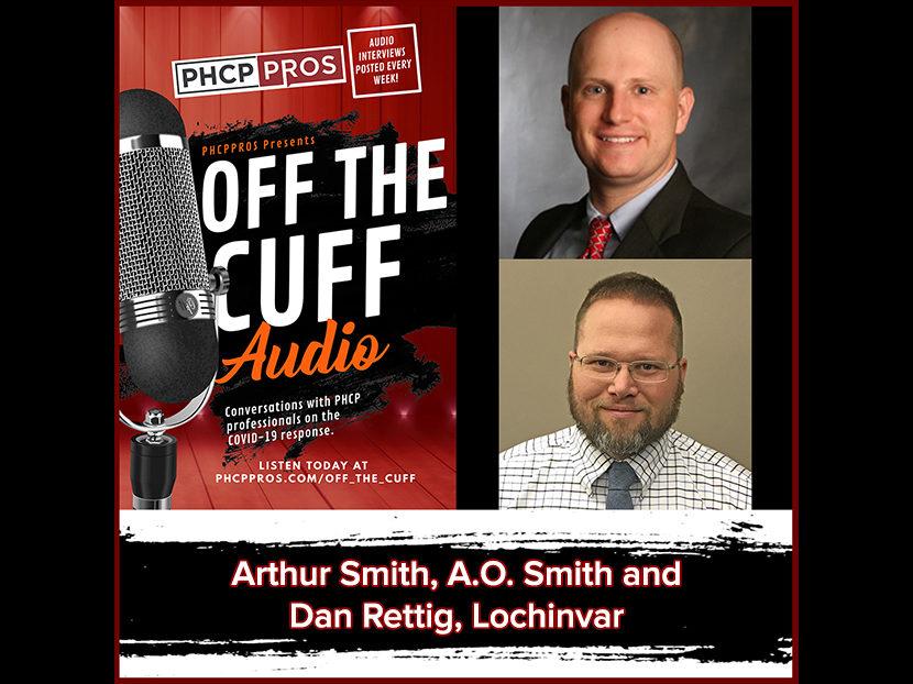 Arthur Smith, A.O. Smith and Dan Rettig, Lochinvar