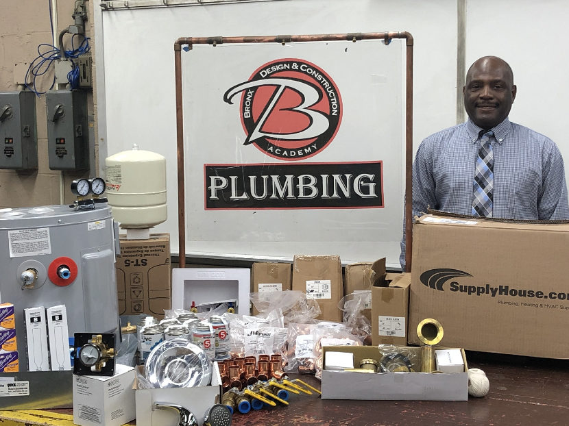 Bronx Design and Construction Academy Partners with SupplyHouse.com to Uplift Trades Work 2