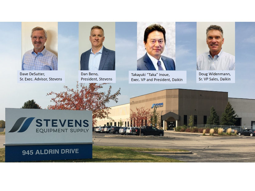 Daikin Acquires Stevens Equipment Supply 2