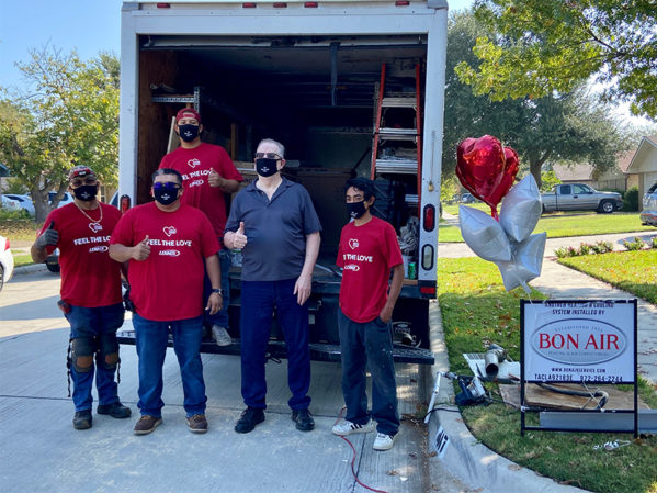 Lennox Installs 210 HVAC Units for 2020 Feel The Love Program A