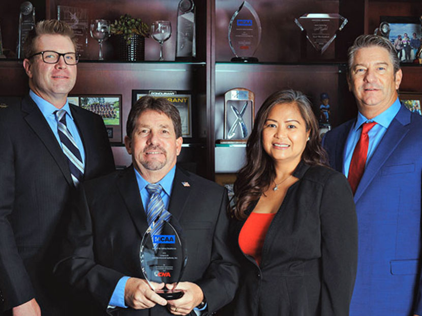 MCAA and CNA Honor Xcel Mechanical Systems with Top Safety Award for 2019 2