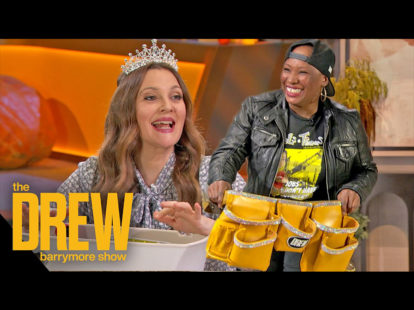 Tools tiaras founder judaline cassidy makes appearance on the drew barrymore show