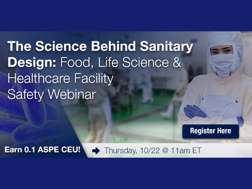 Watts to Host Webinar on Sanitary Design for Facility Safety