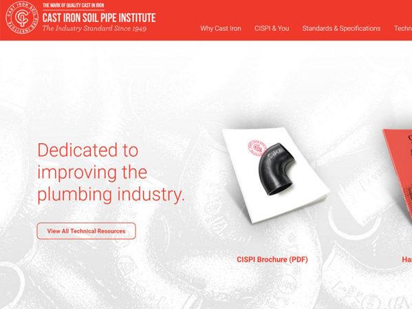 Cast-Iron-Soil-Pipe-Institute-Re-designs-Web-Site