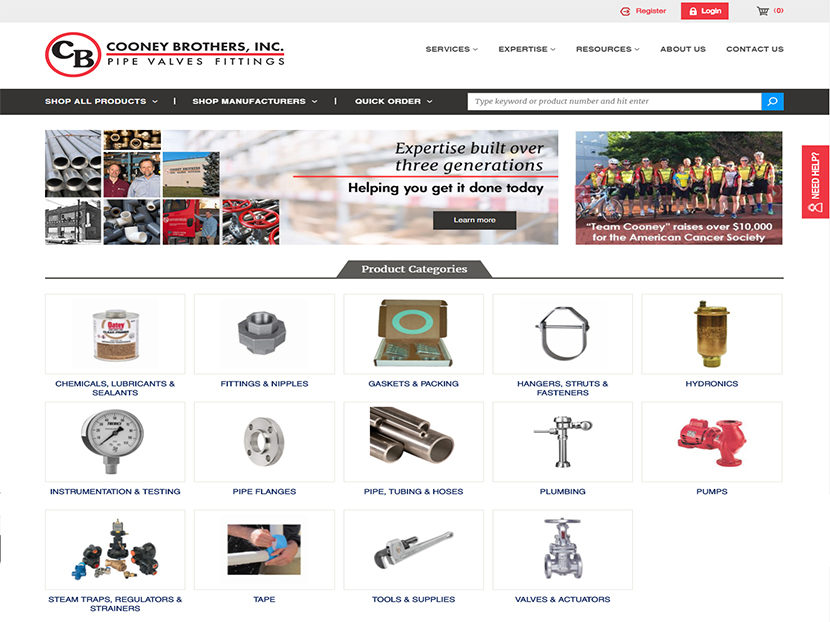 Cooney Brothers Launch New Ecommerce Website