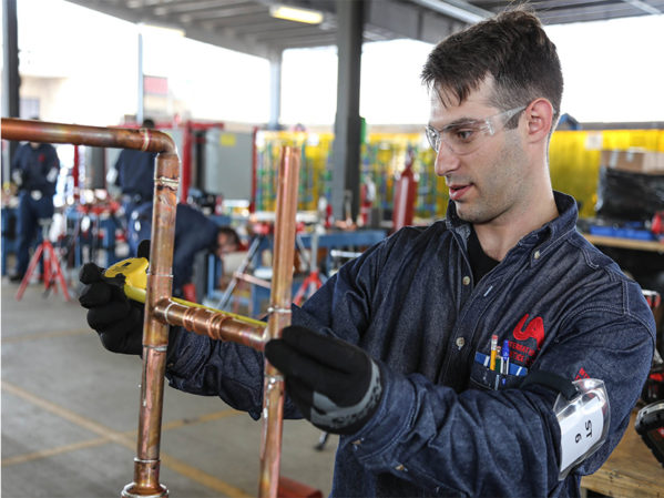 UA Competition Showcases the Piping Trades as Viable Careers for Millennials