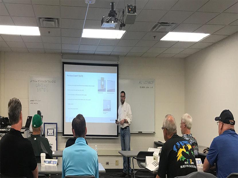Geberit Participates in UA Instructor Training