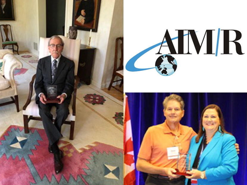 AIM/R Inducts Sam McCullough and Dave Watson Into Hall of Fame