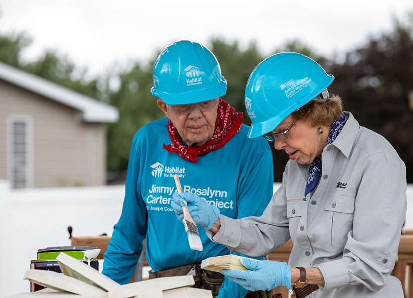 Carrier to Participate in Habitat for Humanity Carter Work Project for Second Consecutive Year 2