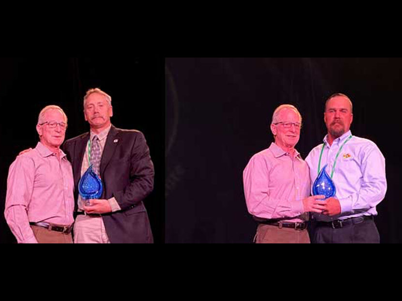 Inaugural IWSH Awards Presented to Two Supporters
