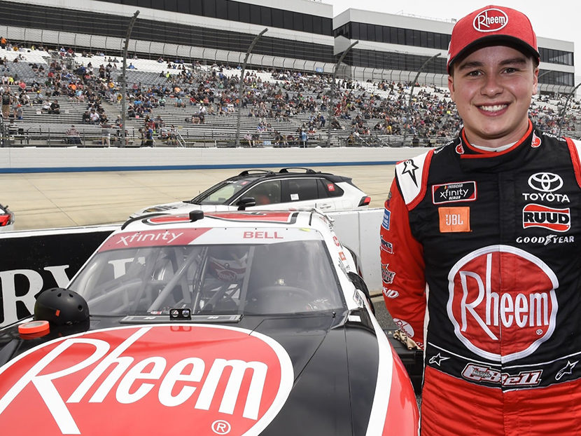 Rheem Announces Ongoing Partnership with NASCAR