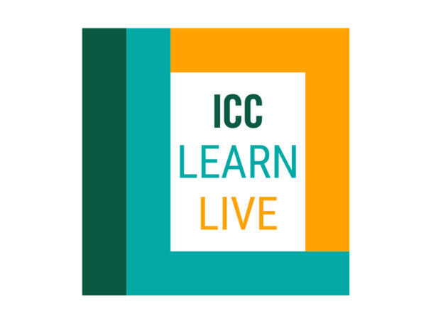 Icc announces inaugural online education event  icc learn live 2