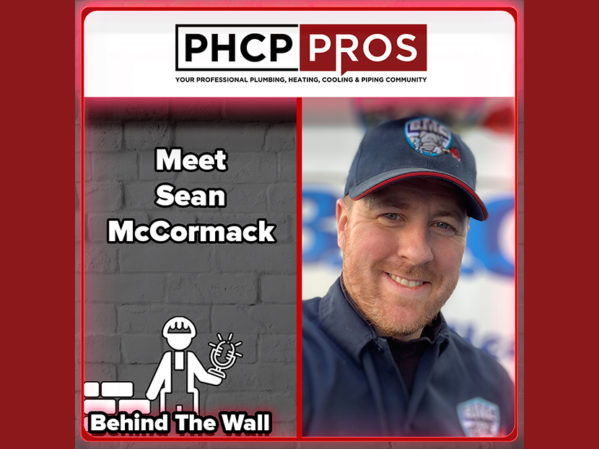 PHCPPros Behind the Wall Podcast: Meet Sean McCormack, Owner of BMC Plumbing and Heating Inc.