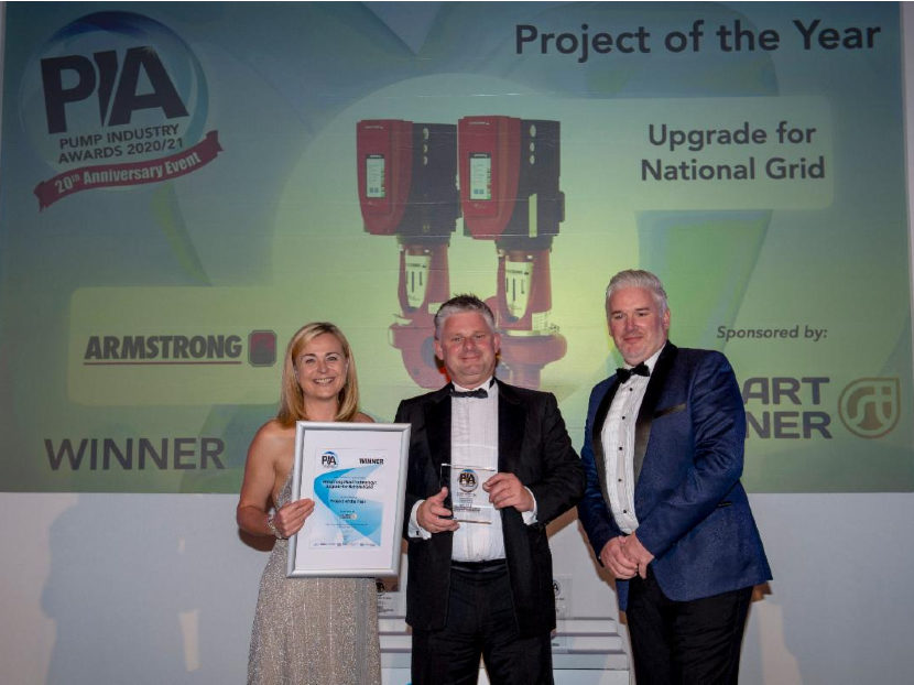 Armstrong Fluid Technology Wins Project of the Year Accolade at Pump Industry Awards
