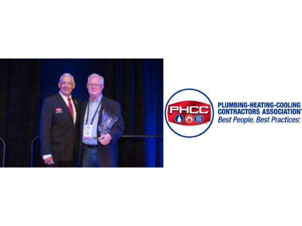 Bill Jones Receives PHCC Col. George D. Scott Award