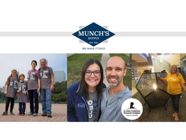 Munch's Supply Raises More than $24,000 for St. Jude