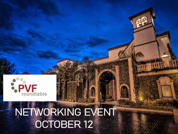 Registration Open for PVF Roundtable Quarterly Networking Meeting through Oct. 7