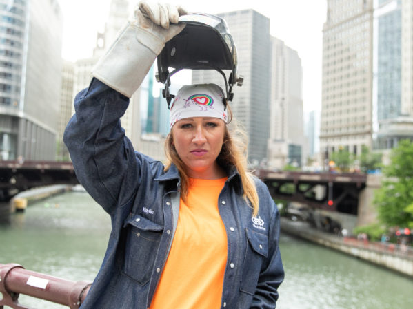 TDIndustries Welder Kaylin Leas Nominated for Tradeswoman of the Year Award
