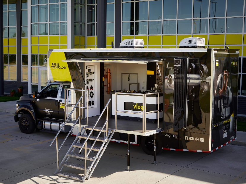 Viega Unveils New Demo Truck