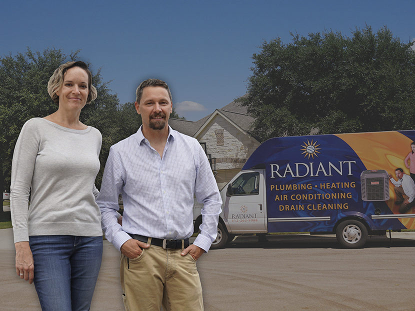 PHCPPros Behind the Wall: Meet Brad and Sarah Casebier of Radiant Plumbing and Air Conditioning