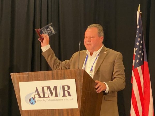 AIM/R Hall of Fame Inductee Honored
