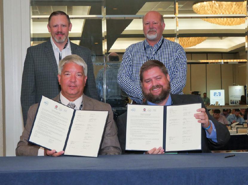 ASHRAE, AABC, ACG and EMA Sign Memorandum of Understanding