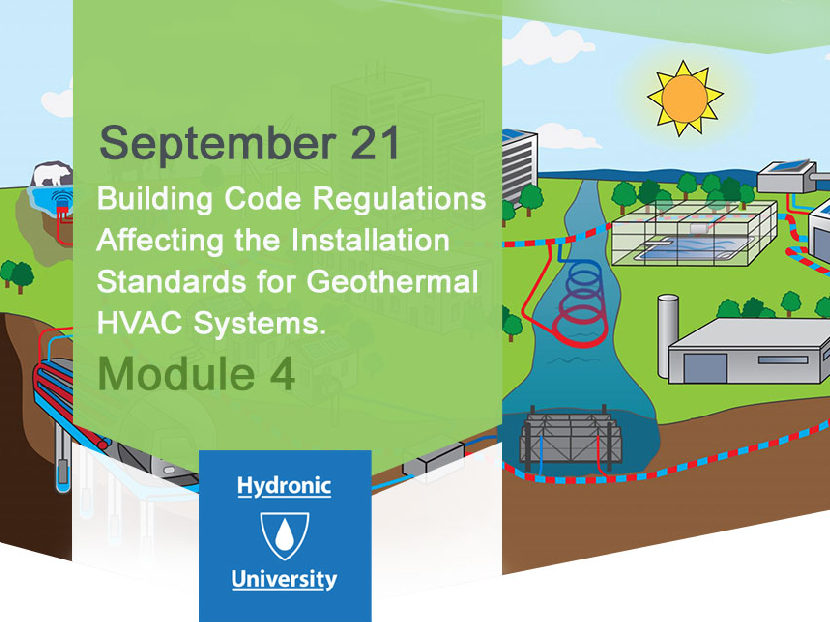 Back to School Discount: Installation Standards for Geothermal HVAC Systems