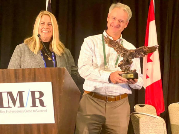 Bradford White Matt Kozak Receives AIM/R Golden Eagle Award
