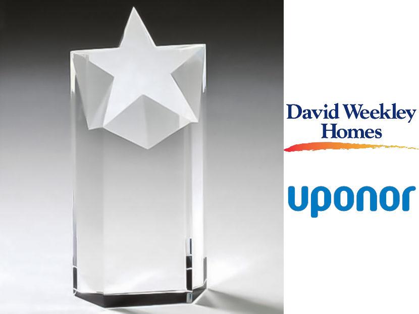 David Weekley Homes Names Uponor National Preferred Partner