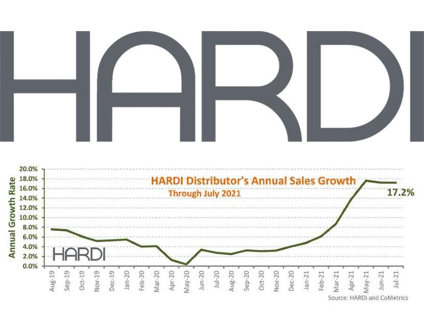 HARDI Distributors Report 9.3 Percent Revenue Increase in July