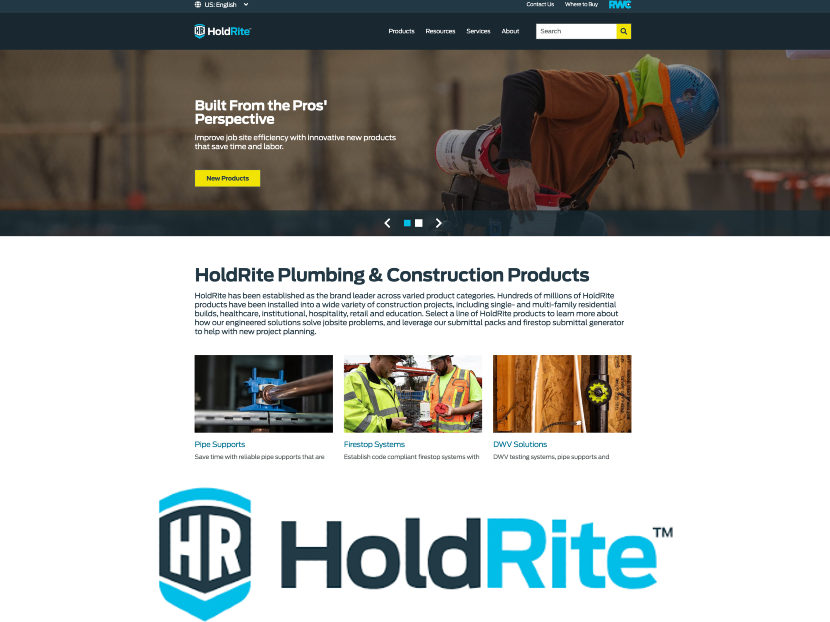 RWC Launches New HoldRite Website Design for Improved User Experience