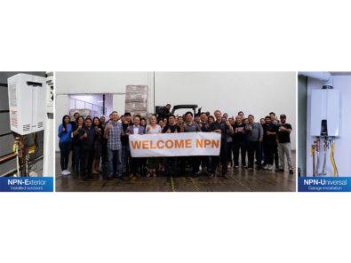 Navien begins shipping npn series premium non condensing tankless water heaters