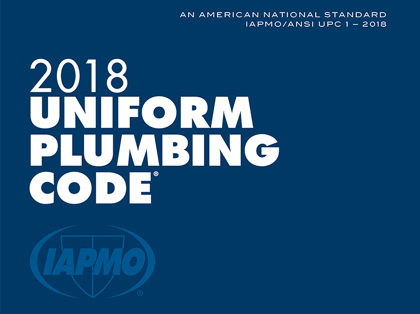 Uniform Plumbing Codes