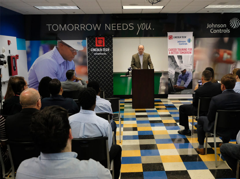 Johnson Controls Partners With Lincoln Tech To Train Next Generation 2019 05 07 Phcppros