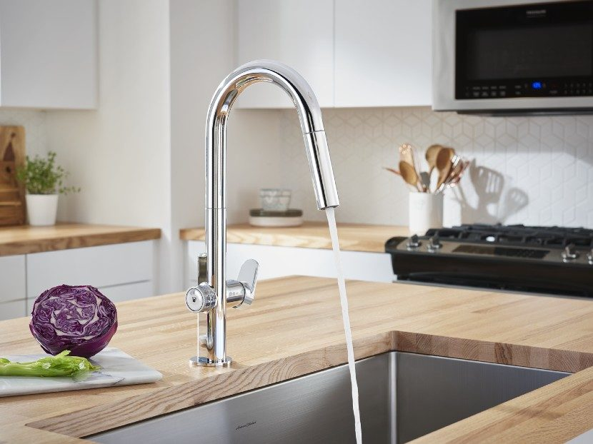 American Standard Beale MeasureFill Touch Pull-Down Kitchen Faucet 2