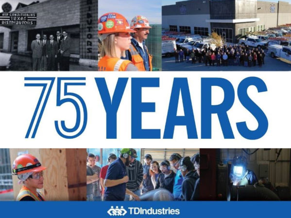 TDIndustries Celebrates 75 Years