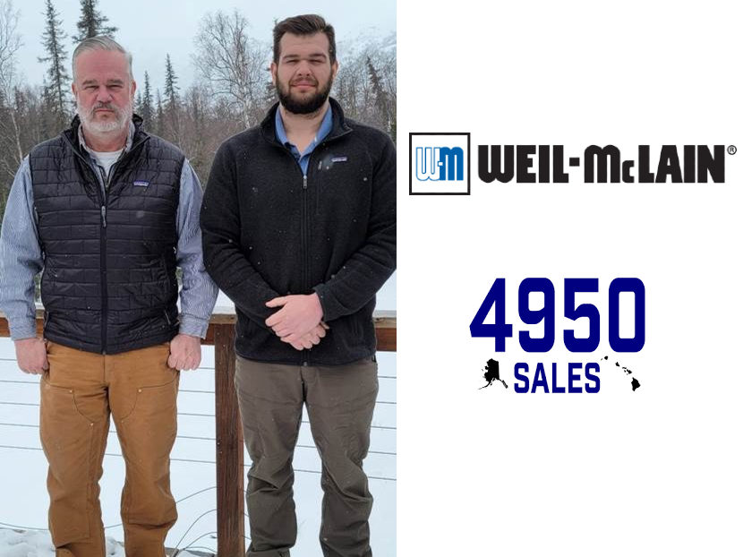 Weil-McLain Partners with 4950 Sales