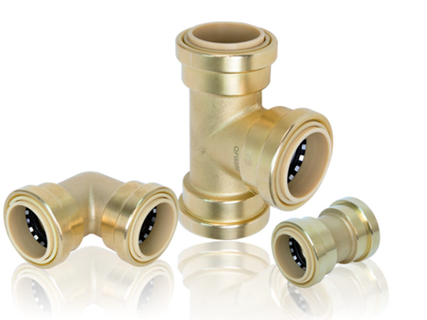 Quick Fitting ProBite+ Push-to-Connect Pipe Fitting