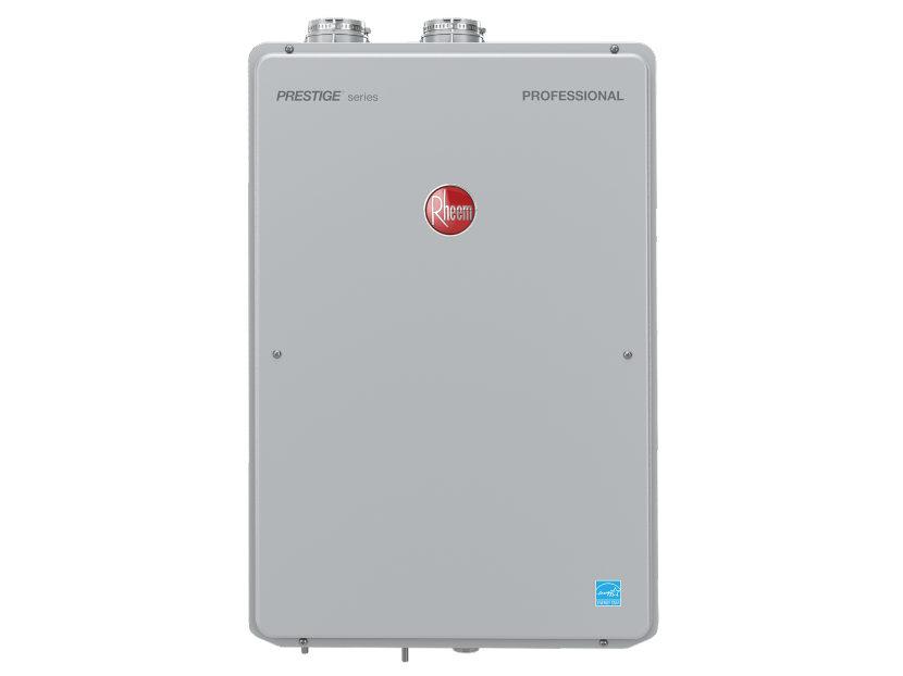 Rheem Prestige Indoor Tanlkess Water Heater 2
